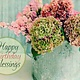 Blossoming Water Can - Birthday Blessings