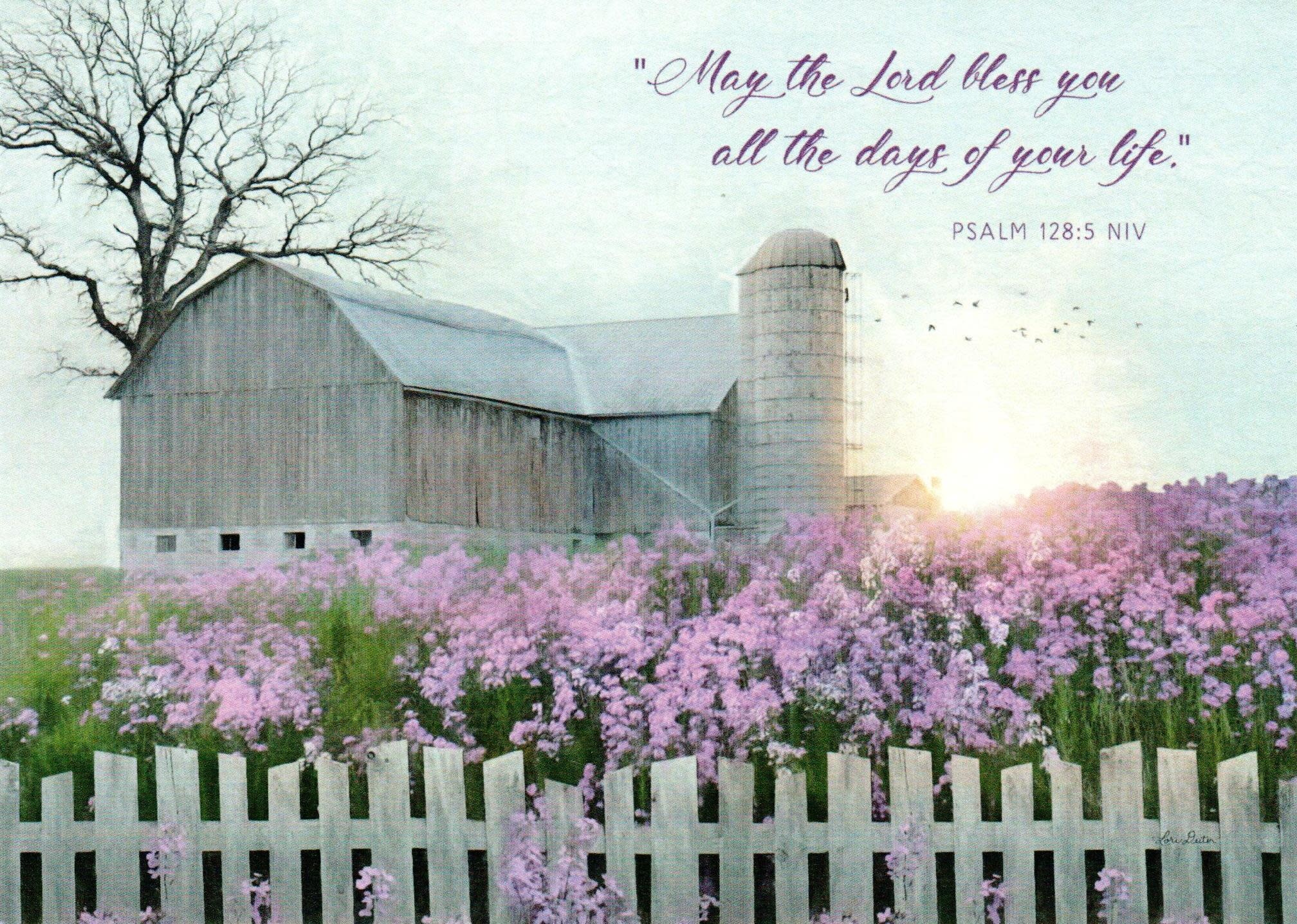 May the Lord Bless You - Lilac Barn