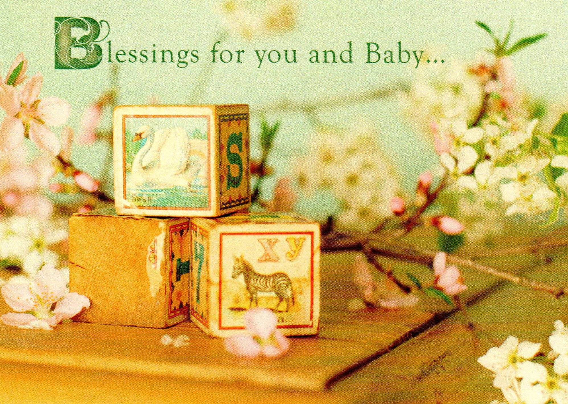 Blessings for You and Baby... Blocks and Branch