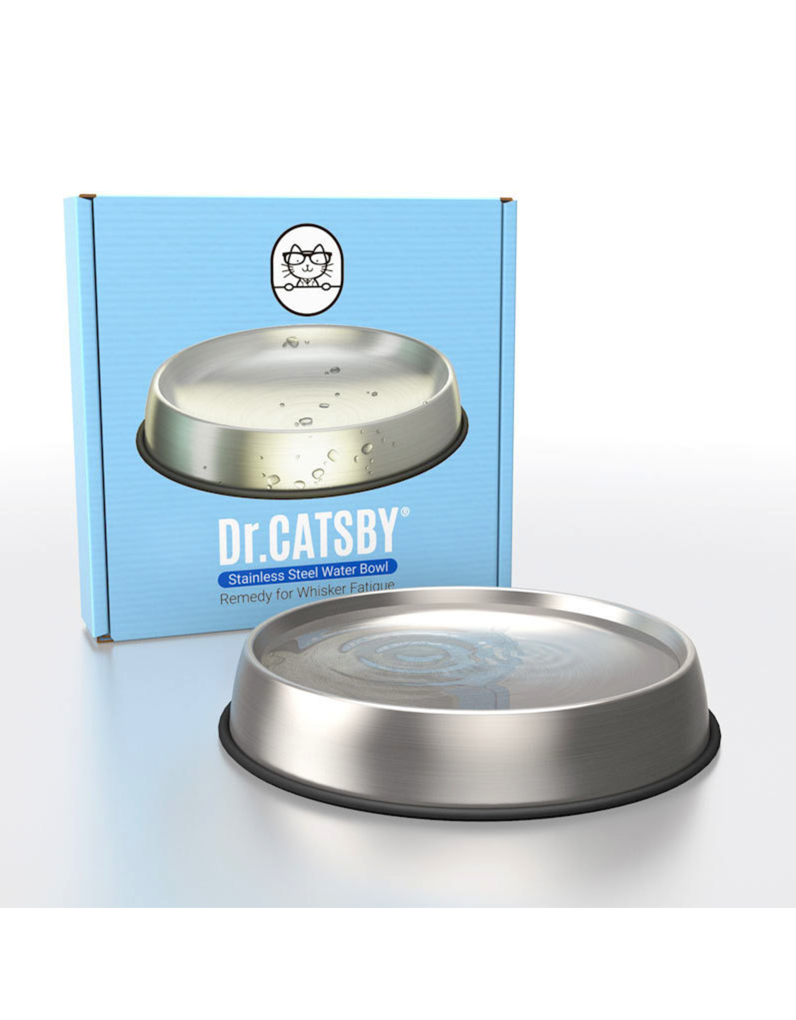 Dr. Catsby Dr Catsby Stainless Steel Food Bowl