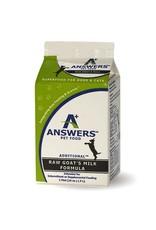 Answers Pet Food Answers Pet Food Raw Goat's Milk