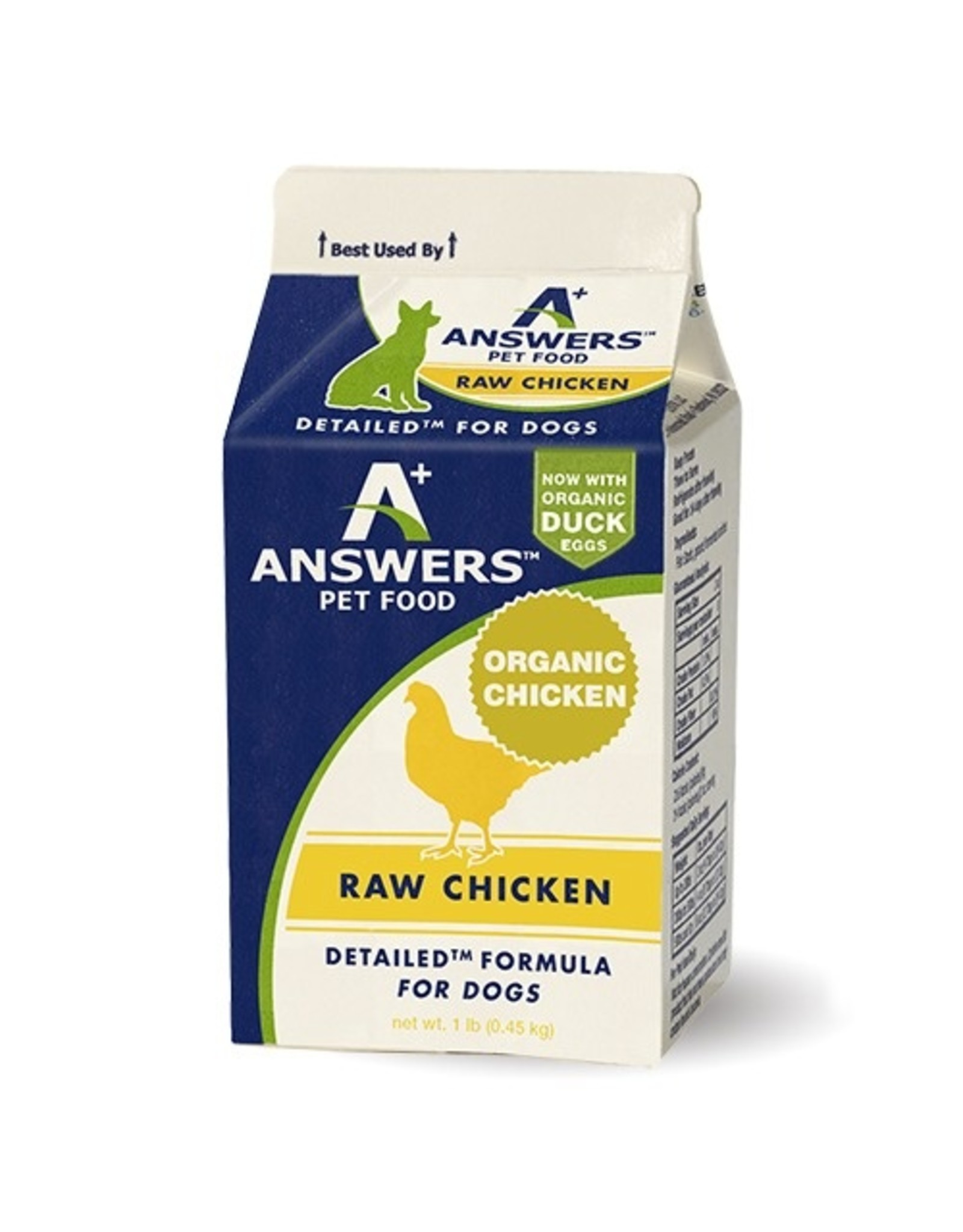 Answers Pet Food Answers Pet Food Dog Detailed Chicken
