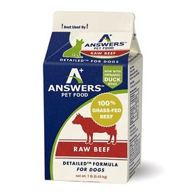 Answers Pet Food Answers Pet Food Dog Detailed Beef