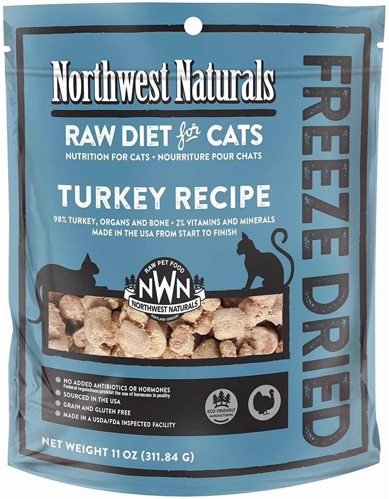 Northwest Naturals Northwest Naturals Cat Freeze Dried Turkey 11oz