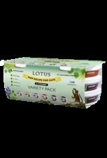 Lotus Pet Food Lotus Cat Raw 3.2oz Variety Pack 6ct
