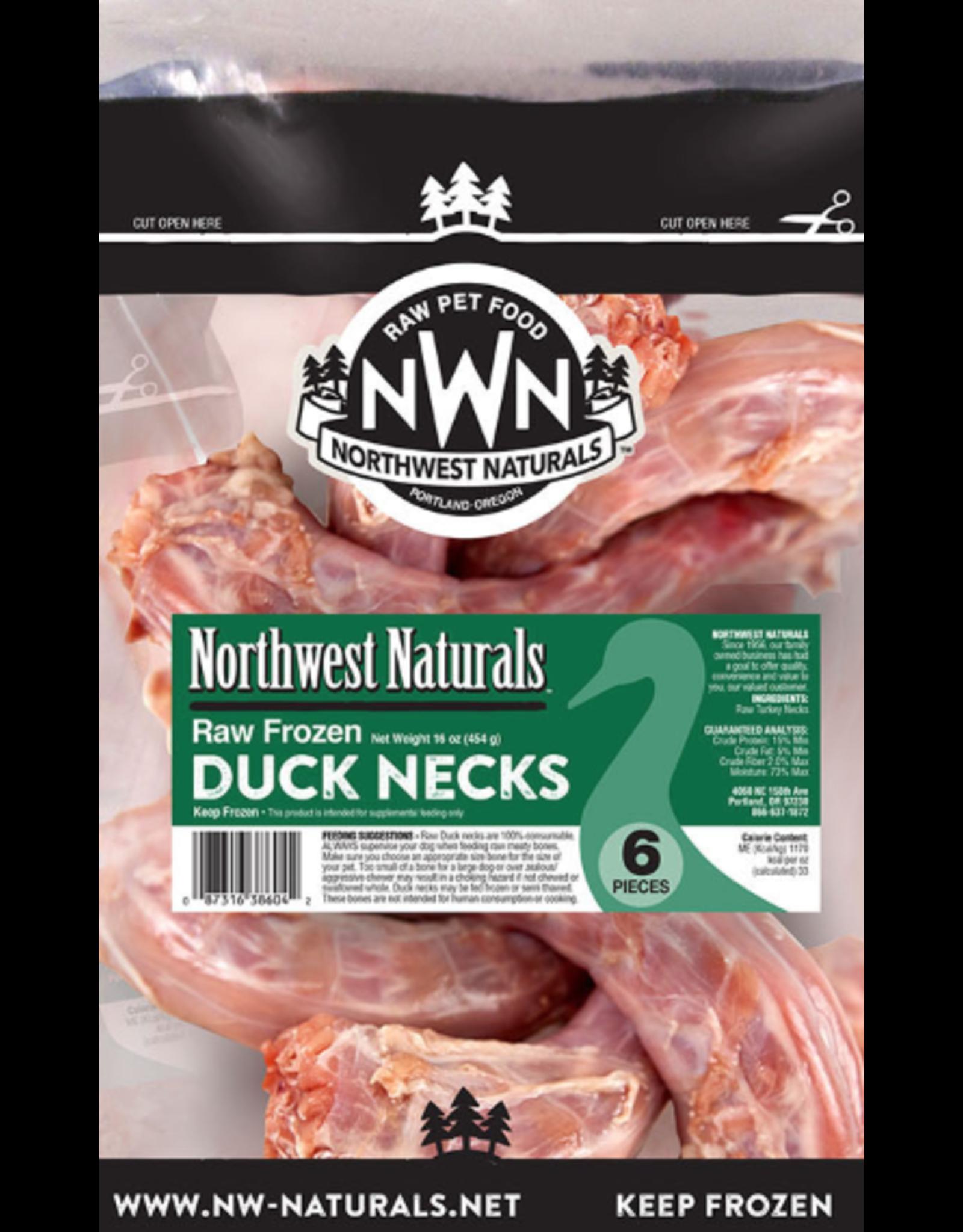 Northwest Naturals Northwest Naturals Raw Duck Necks 6pc