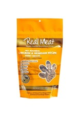 The Real Meat Company The Real Meat Dog Treats Chicken and Venison