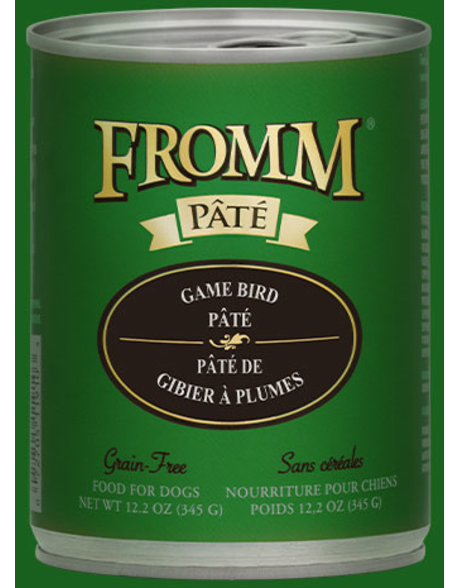 Fromm Family Foods Fromm Dog Game Bird 12.2oz
