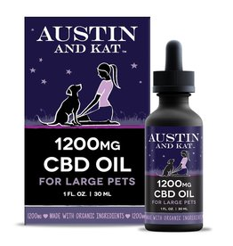 Austin and Kat Austin and Kat 1200MG CBD Oil 1oz