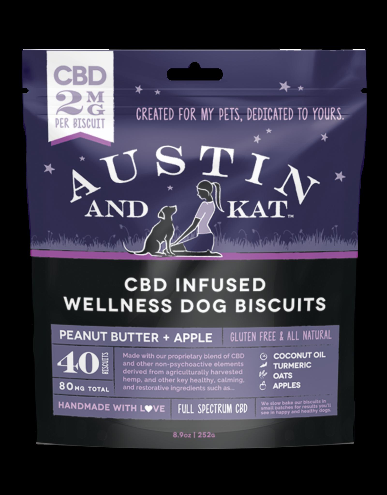 Austin and Kat Austin and Kat 2MG CBD Biscuits 8.9oz