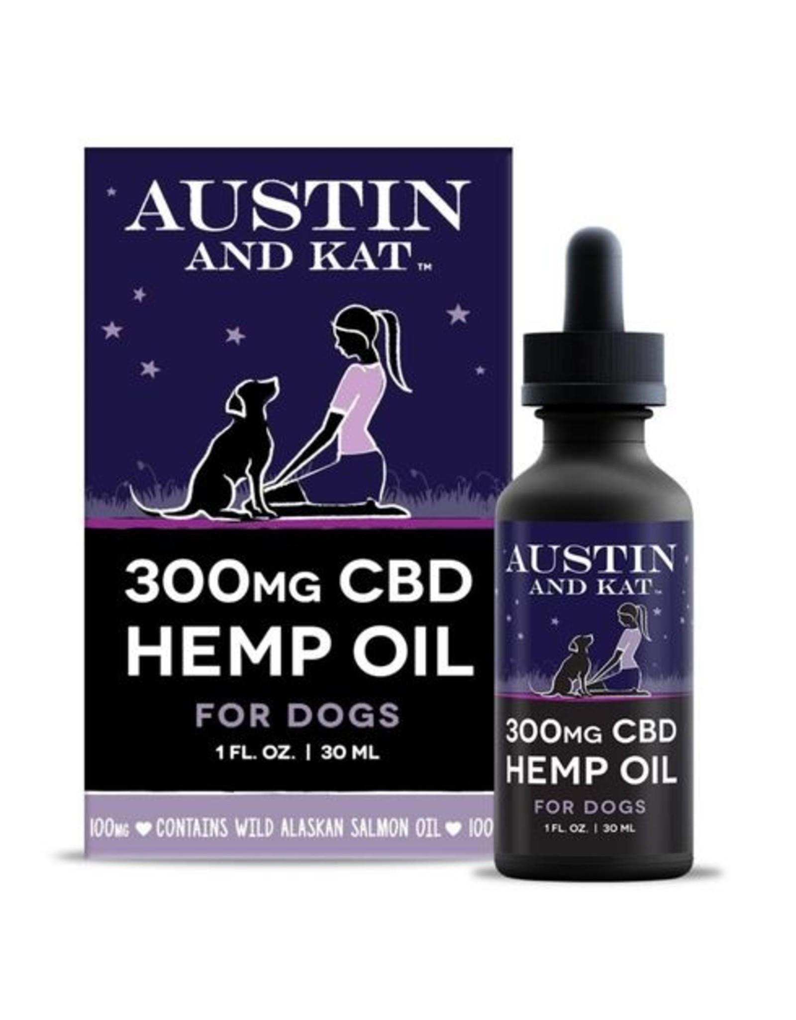 Austin and Kat Austin and Kat 300MG CBD Hemp Oil 1oz