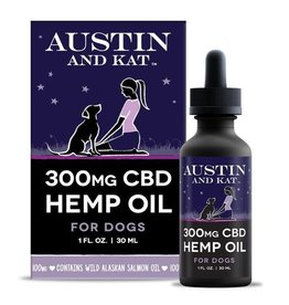 Austin and Kat Austin and Kat 300MG CBD Hemp Oil 1oz