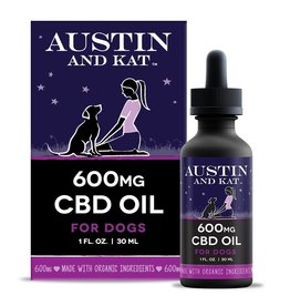 Austin and Kat Austin and Kat 600MG CBD Oil 1oz