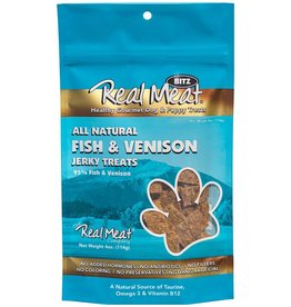 The Real Meat Company The Real Meat Dog Treats Fish and Venison