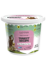 Lotus Pet Food Lotus Pet Food Cat Raw Turkey
