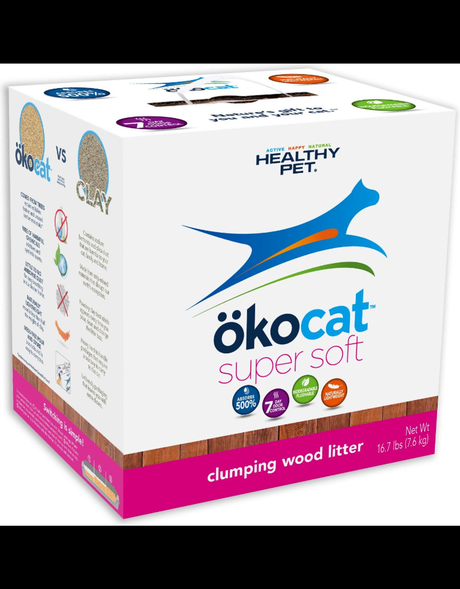 Healthy Pet Healthy Pet okocat Super Soft Clumping Wood Litter