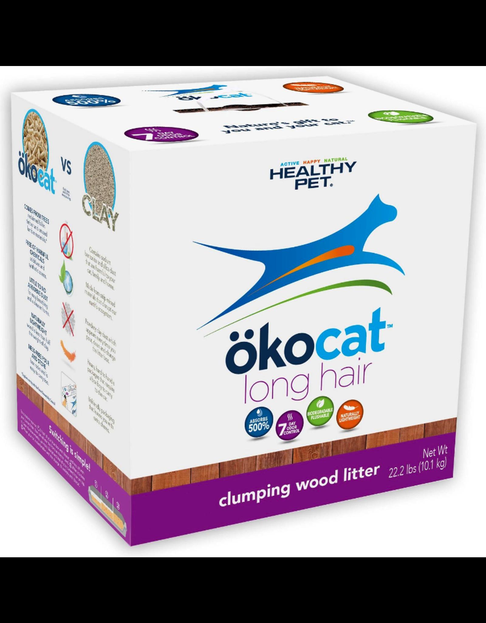 Healthy Pet Healthy Pet okocat Long Hair Clumping Wood Litter