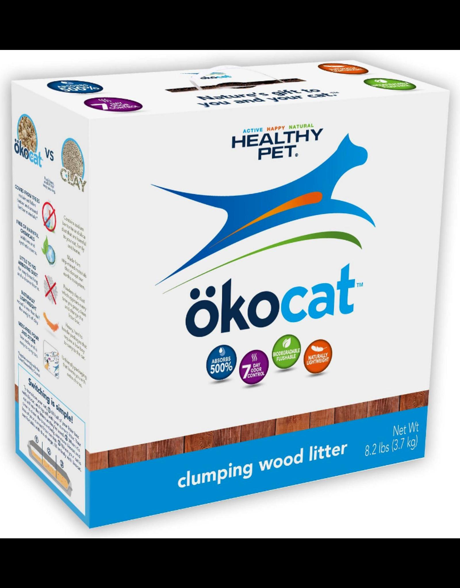 Healthy Pet Healthy Pet okocat Clumping Wood Litter