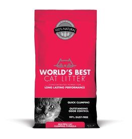 World's Best Cat Litter Worlds Best Cat Litter Multiple Cat Clumping Formula