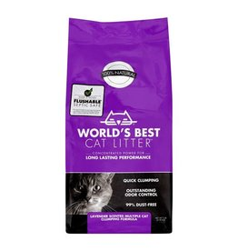 World's Best Cat Litter Worlds Best Cat Litter Lavender Multicat Clumping Formula
