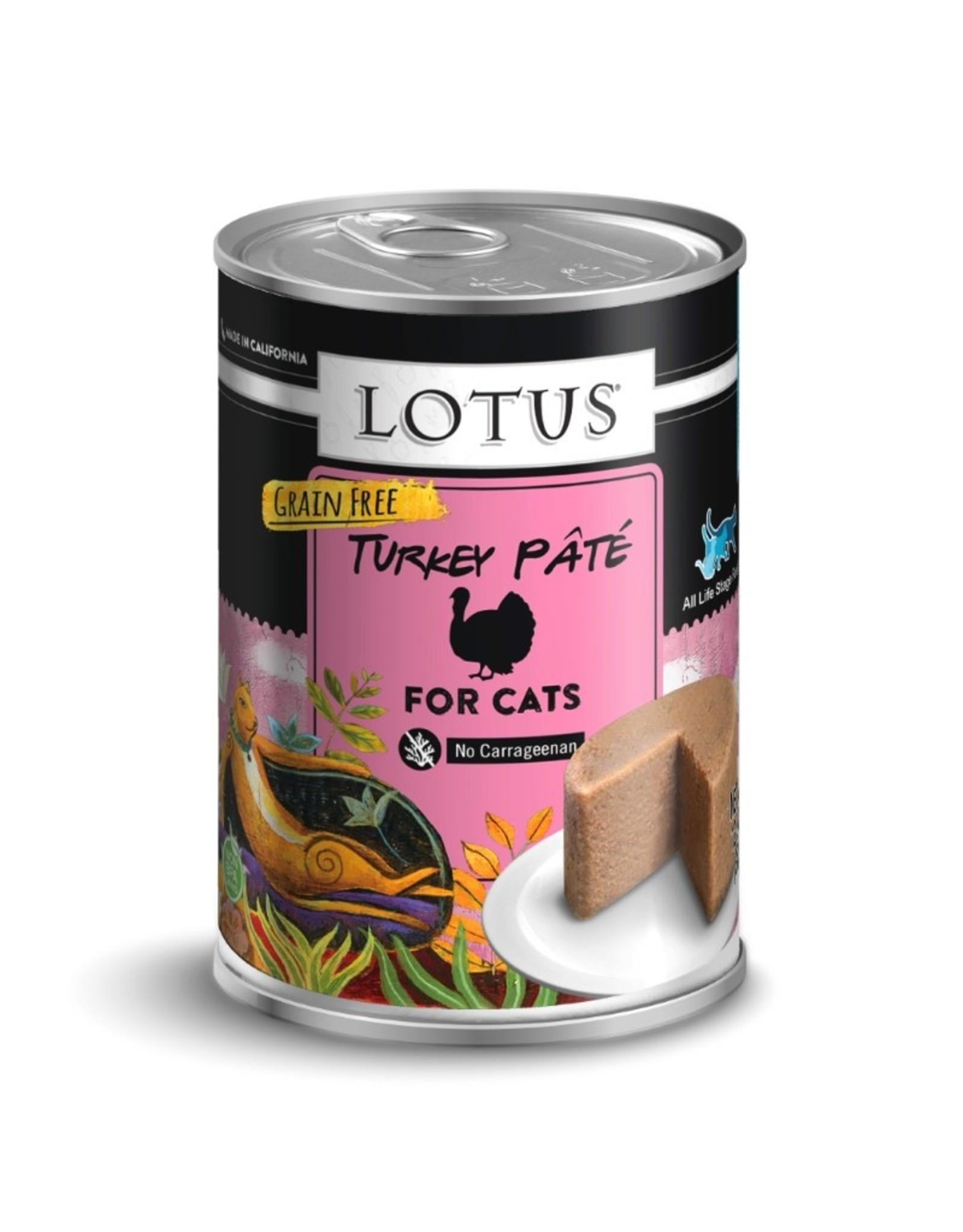 Lotus Pet Food Lotus Pet Food Cat Turkey Pate