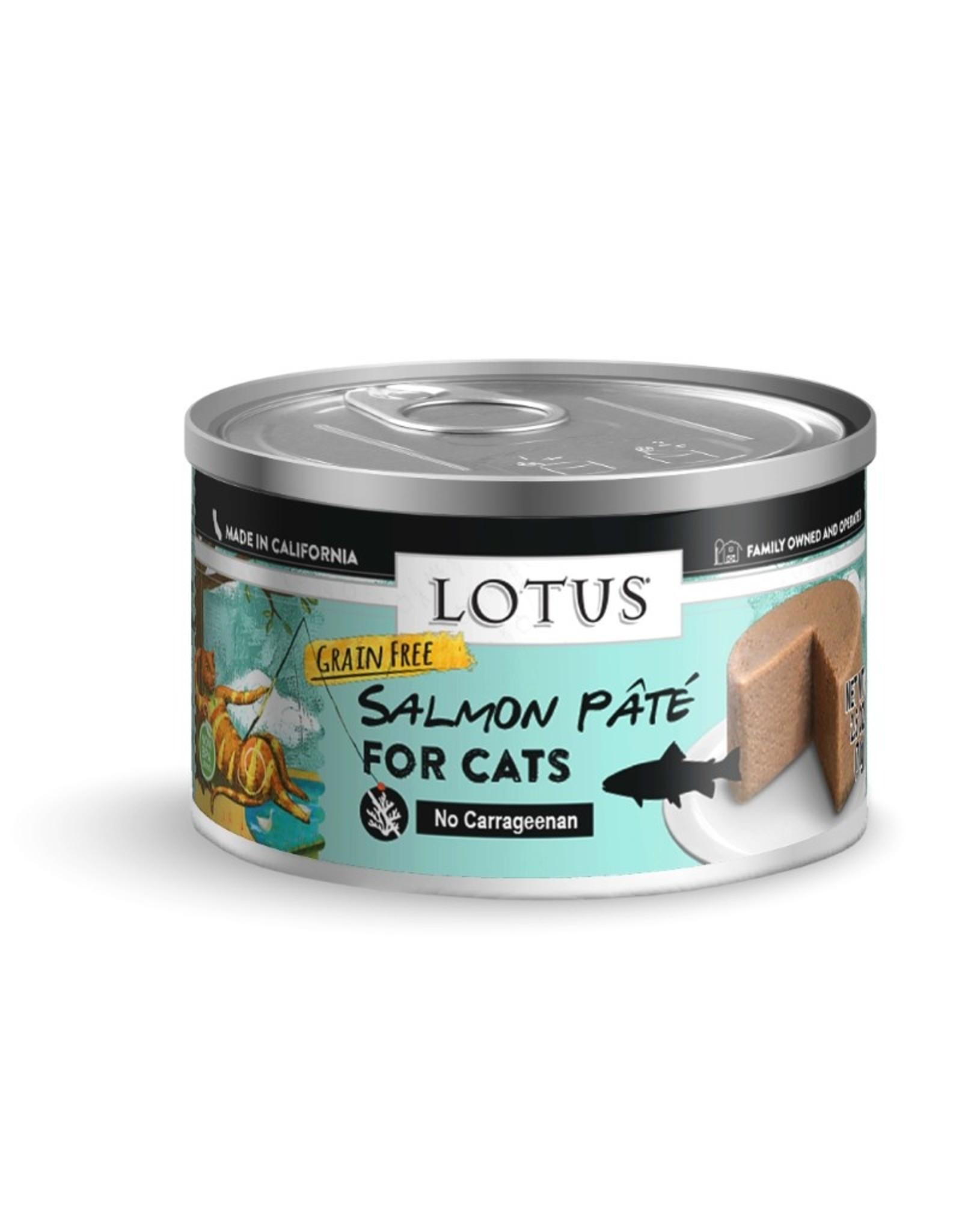 Lotus Pet Food Lotus Pet Food Cat Salmon Pate