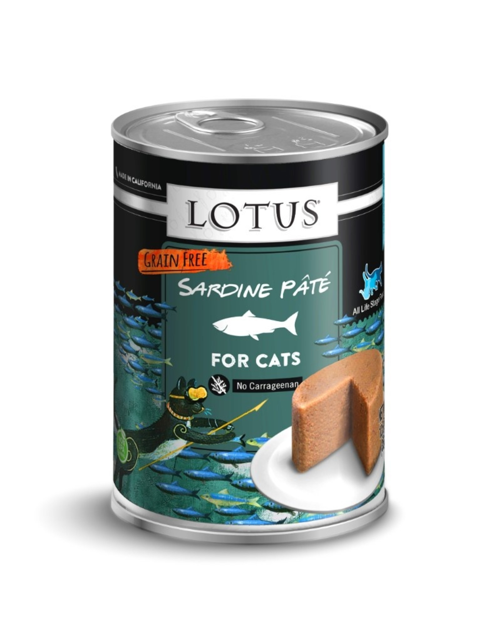 Lotus Pet Food Lotus Pet Food Cat Sardine Pate