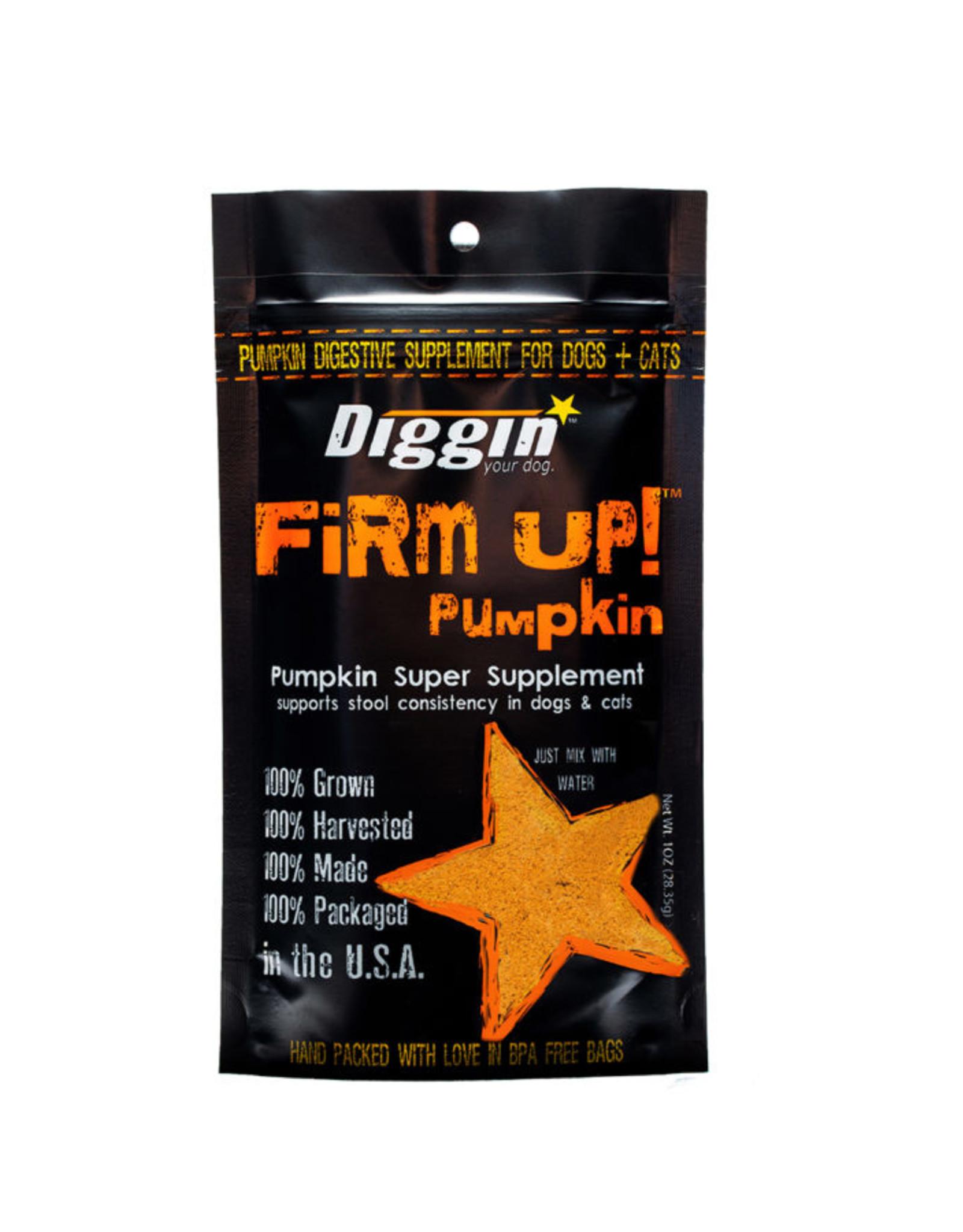 Diggin Your Dog Firm Up Pumpkin 1oz