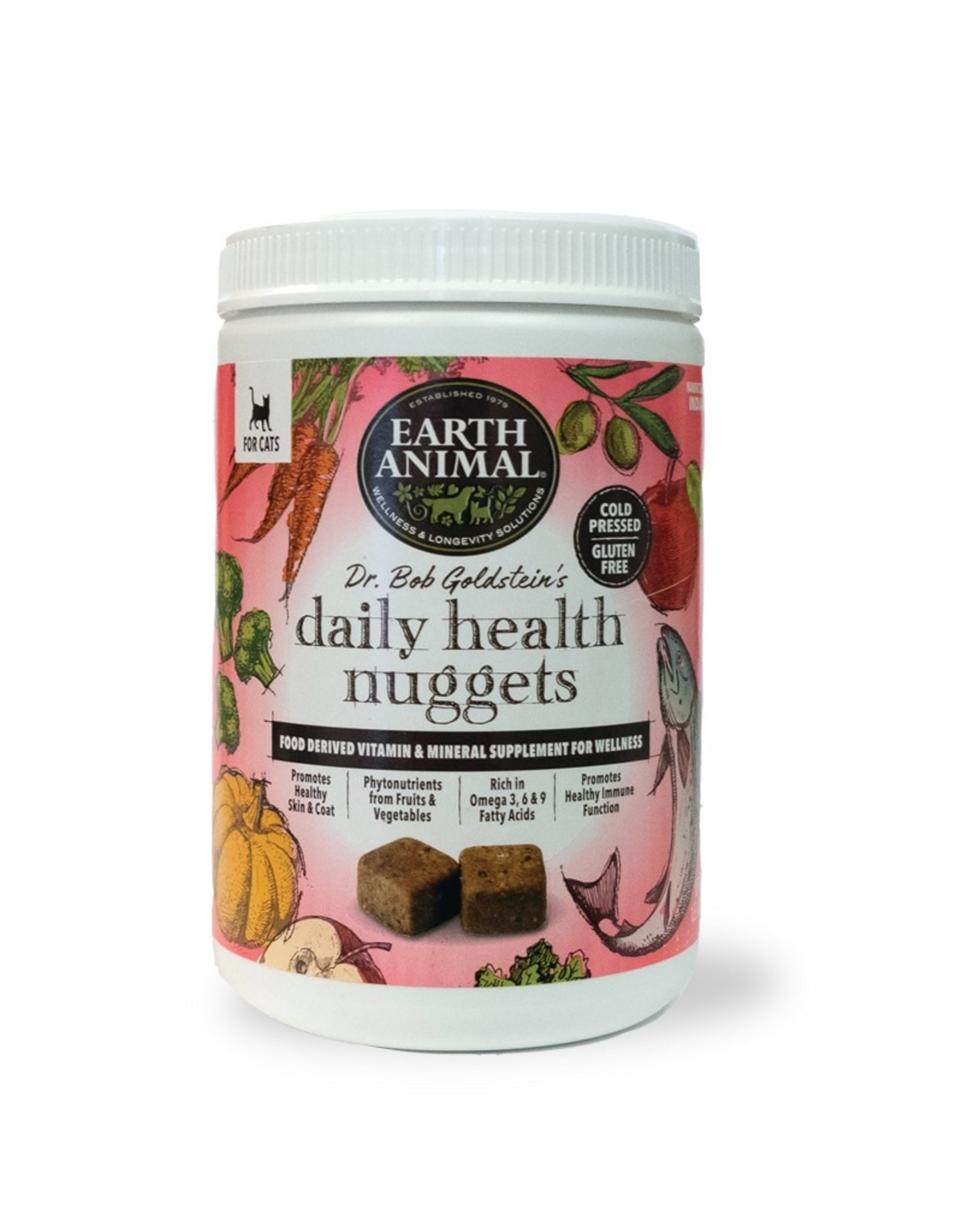 Earth Animal Earth Animal Cat Daily Health Nuggets 1lb