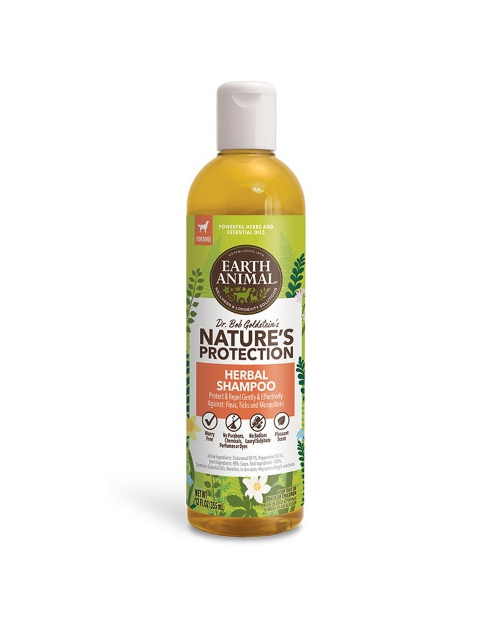 Earth Animal Earth Animal Herbal Shampoo 12oz