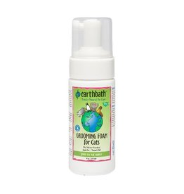Earthbath Earthbath Cat Grooming Foam Green Tea 4oz