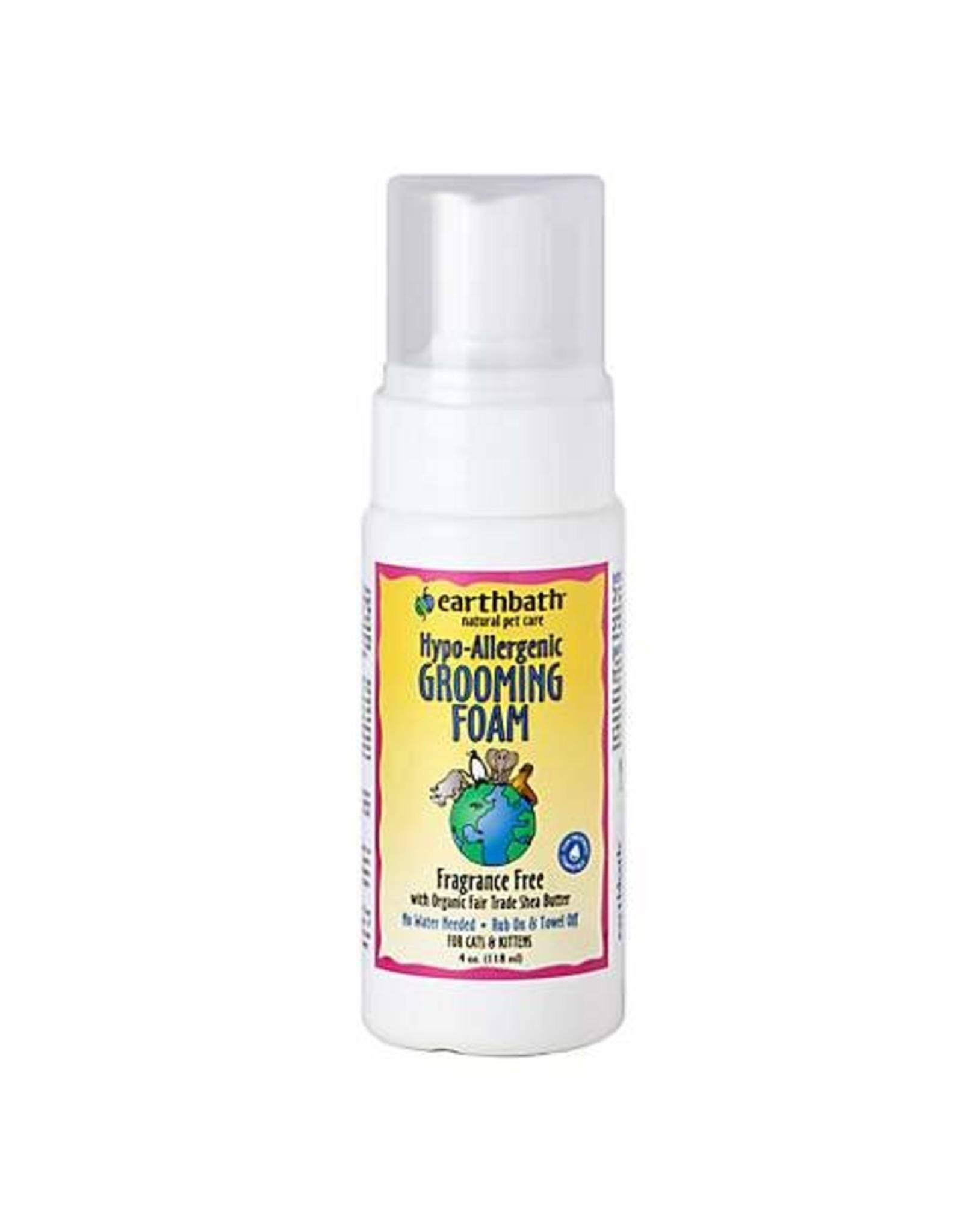Earthbath Earthbath Cat Grooming Foam Hypo-allergenic 4oz