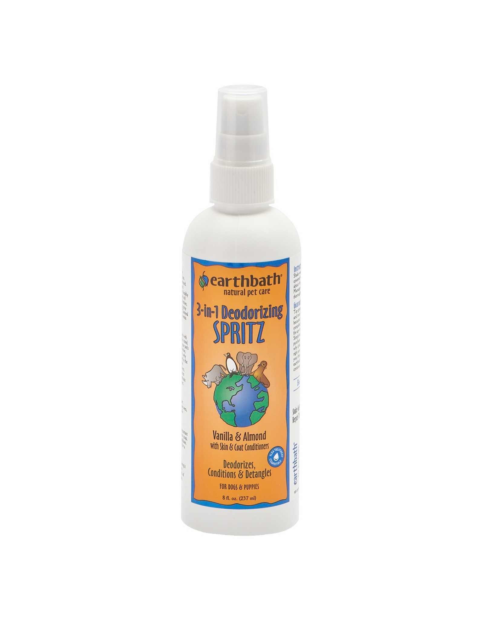 Earthbath Earthbath Deodorizing Spritz Vanilla Almond 8oz