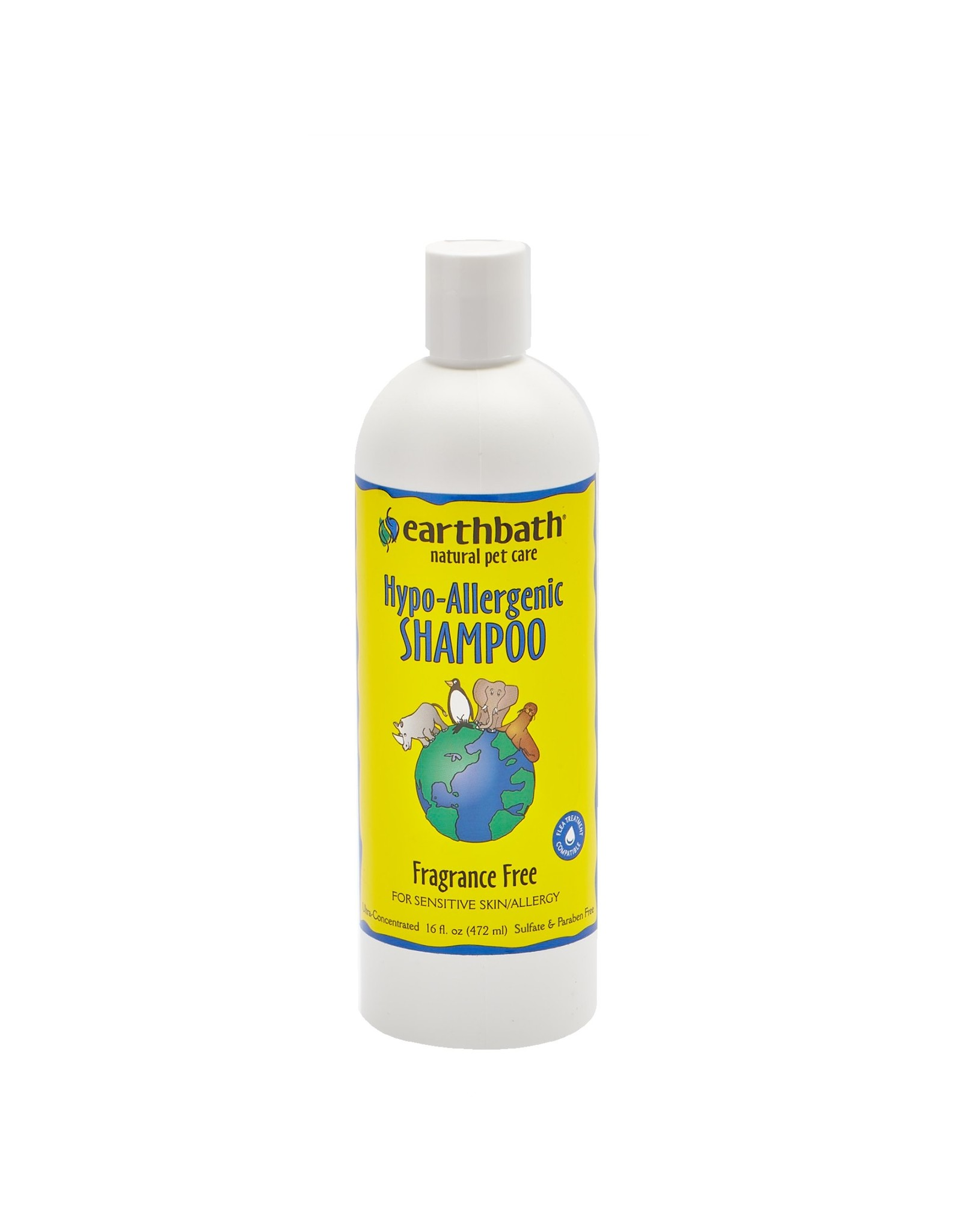 Earthbath Earthbath Hypo-allergenic Shampoo 16oz