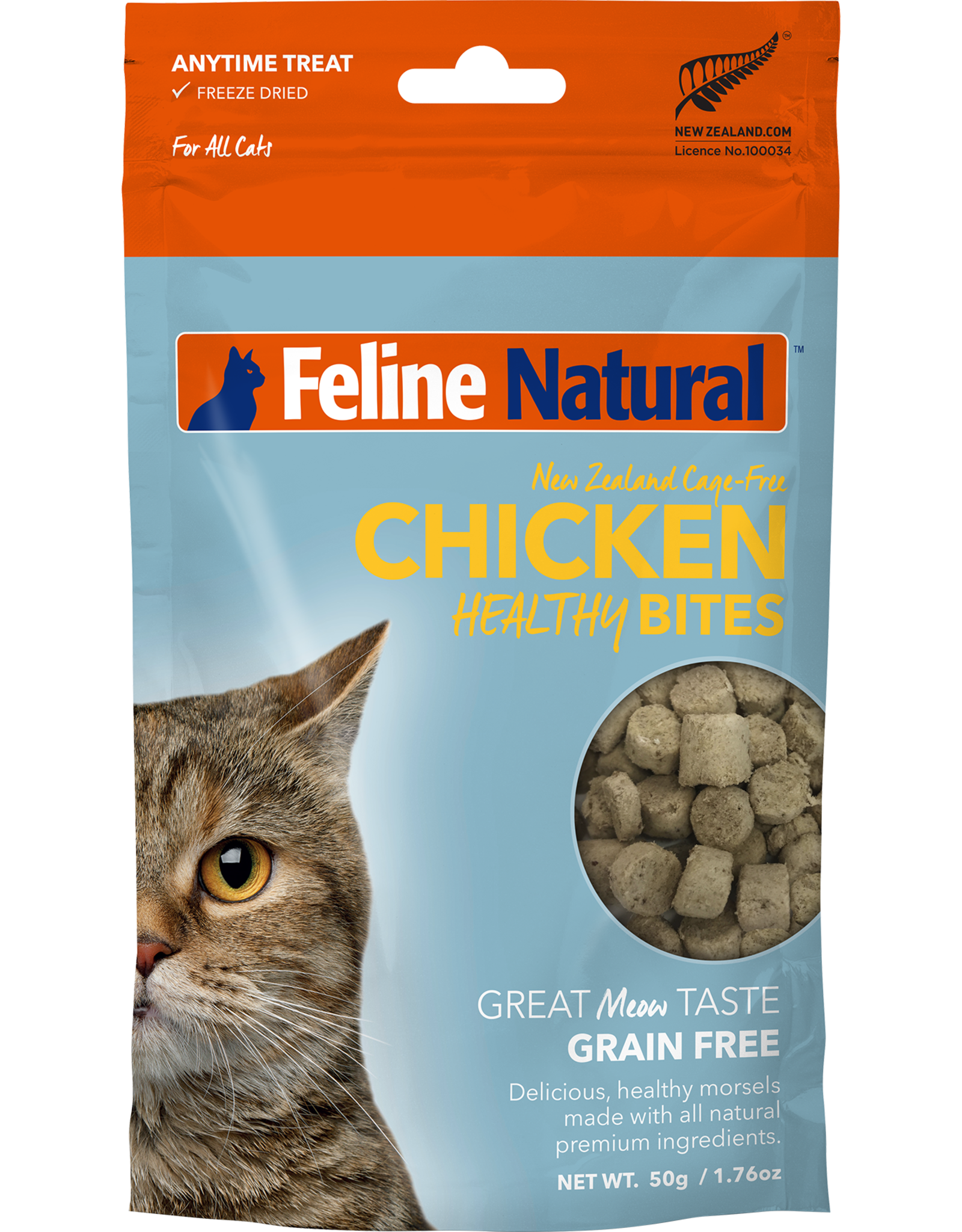 Feline Natural Feline Natural Chicken Bites 1.76oz