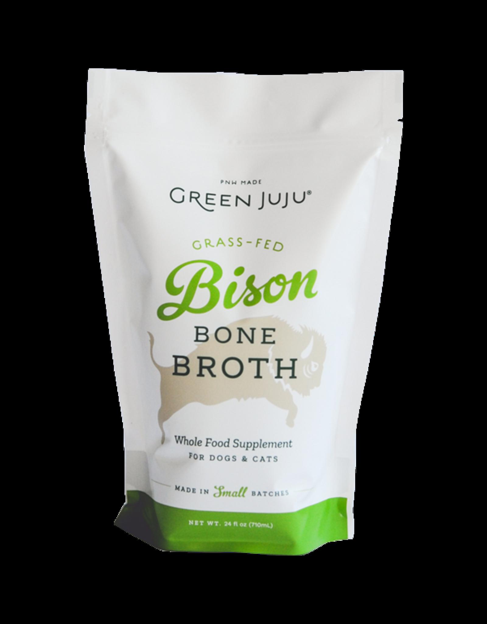 Green Juju Green Juju Bison Bone Broth 24oz