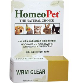 Homeopet Homeopet Wrm Clear 15ml