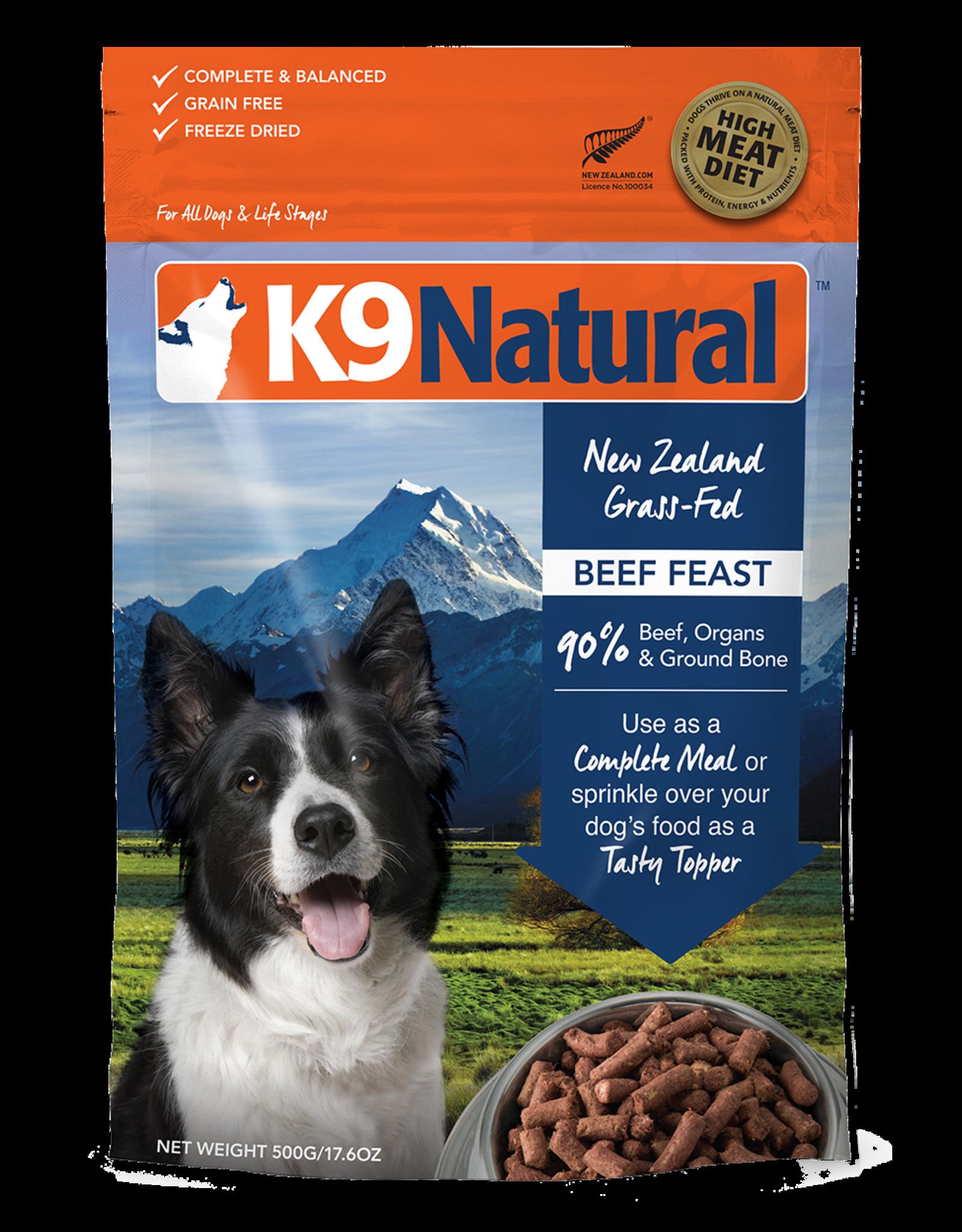 K9 Natural K9 Natural Dog FD Beef 17.6oz