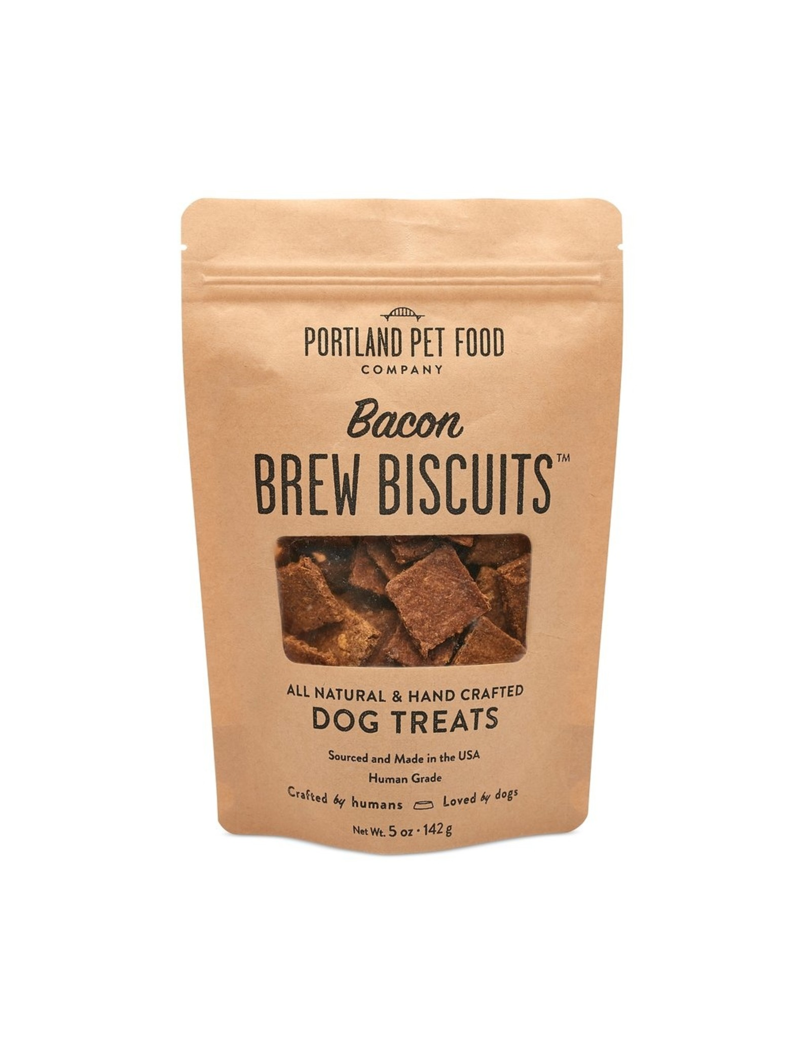 Portland Pet Food Company Portland Pet Food Company Bacon Brew Biscuits 5oz