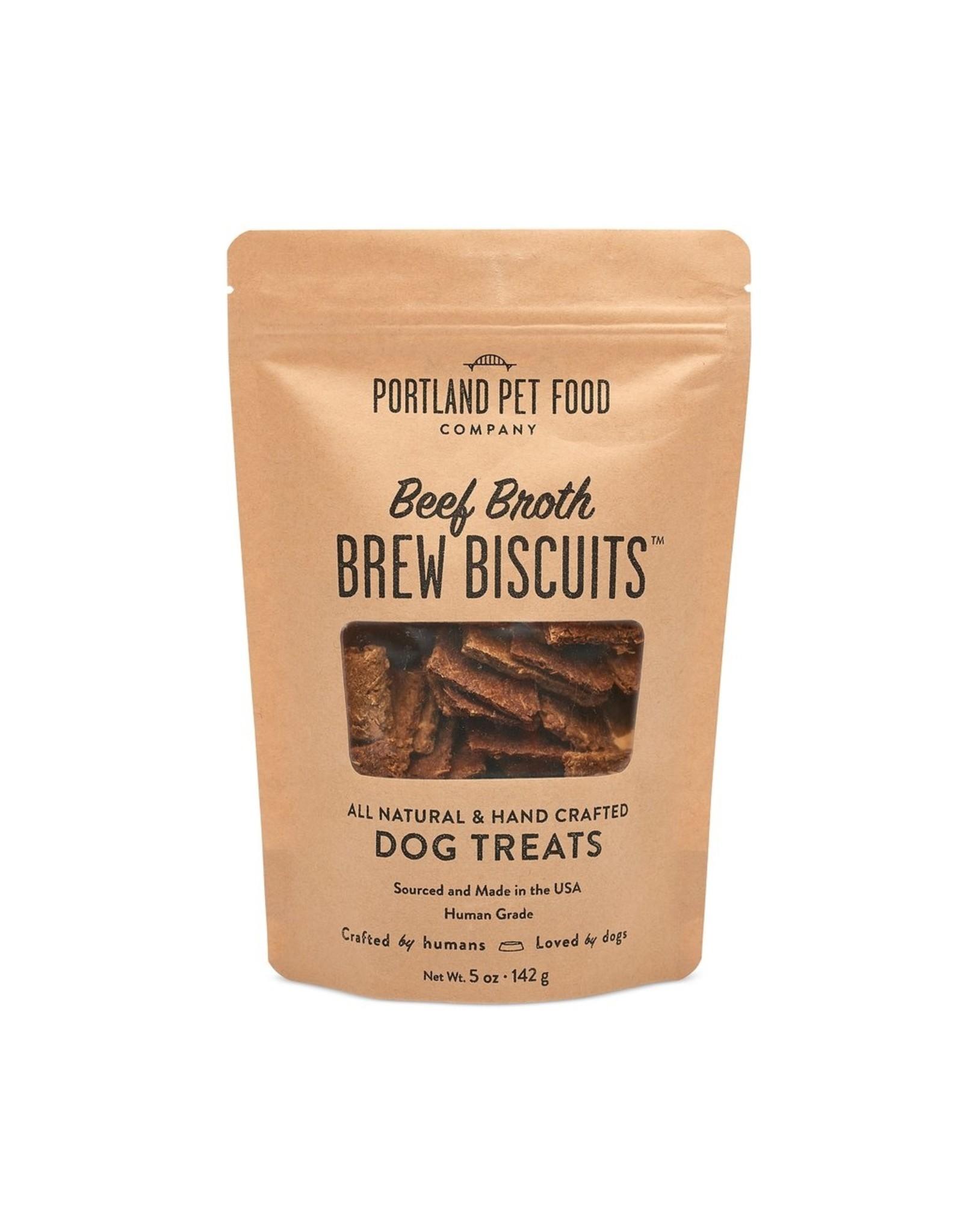 Portland Pet Food Company Portland Pet Food Company Beef Brew Biscuits 5oz