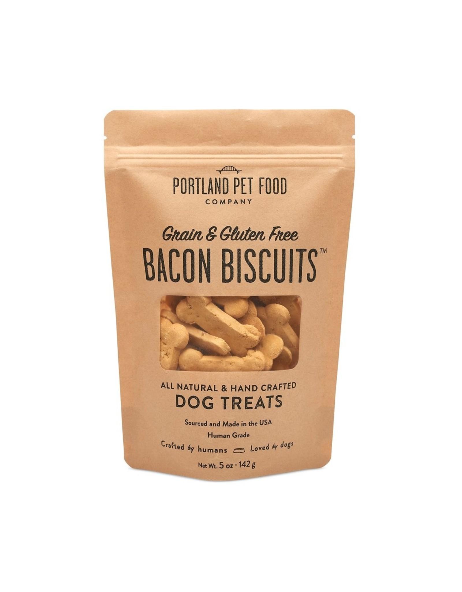 Portland Pet Food Company Portland Pet Food Company Bacon Bone Biscuits 5oz