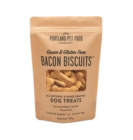 Portland Pet Food Company Portland Pet Food Company Bacon Bone Biscuits 5oz