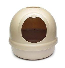Booda Dome Litter Box Titanium