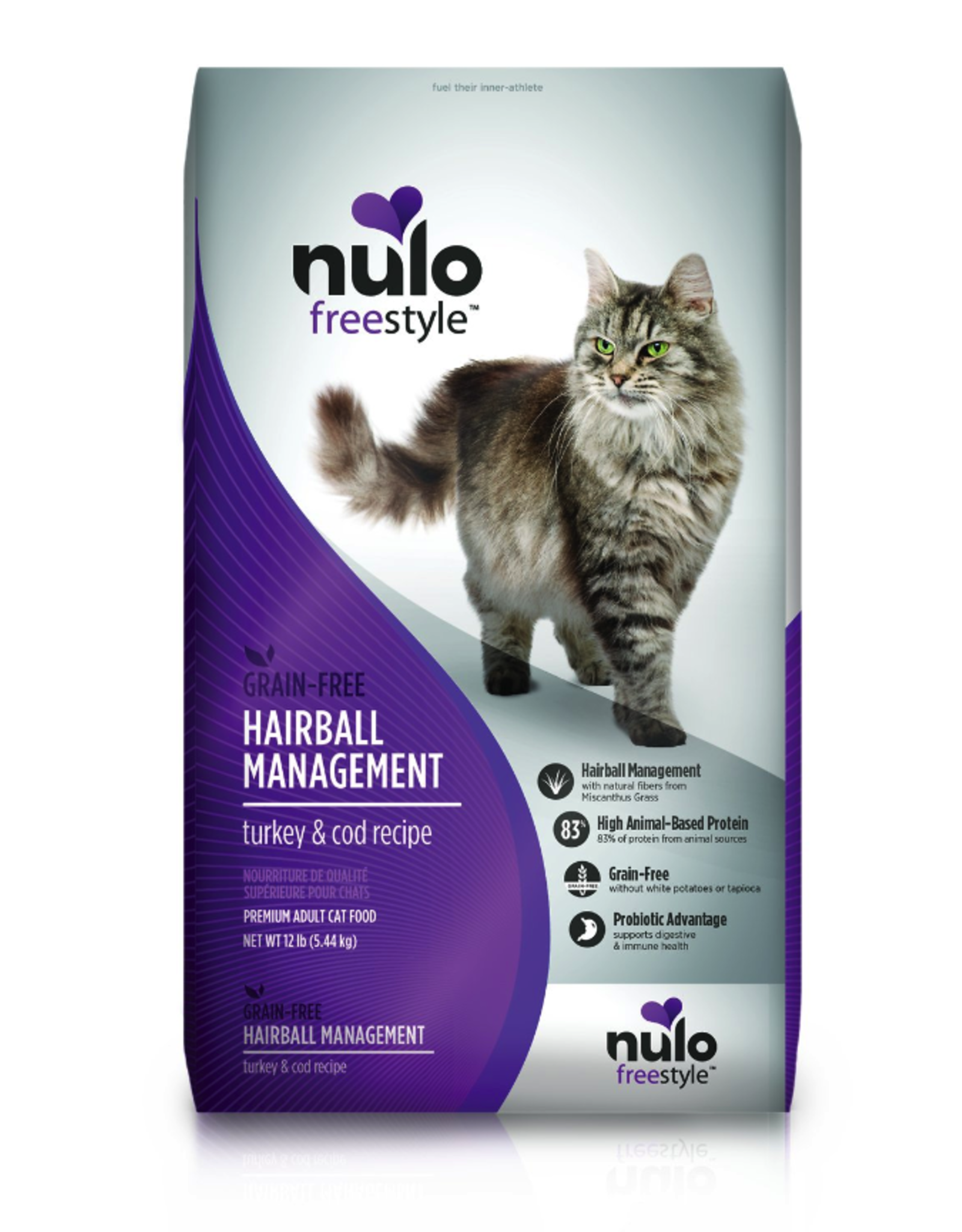 Nulo Nulo Cat Hairball Turkey and Cod 12lb
