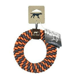 Tall Tails Tall Tails Braided Ring Orange 5""