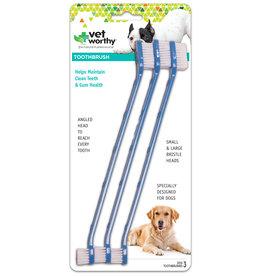 Vet Worthy Pet Toothbrushes 3 pack