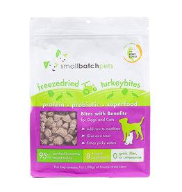 SmallBatch Pets SmallBatch Freeze Dried Turkey Bites 7oz