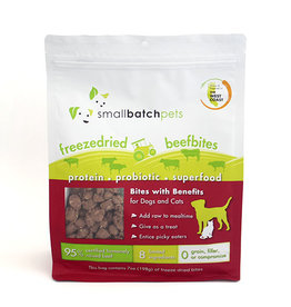SmallBatch Pets SmallBatch Freeze Dried Beef Bites 7oz