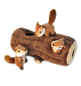 Zippy Paws Zippy Paws Burrow Log with Chipmunks