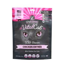 Vital Essentials Vital Essentials Cat Raw Chicken Patties 28oz